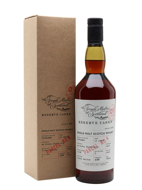 Orkney 13 Years Old / Sherry Cask / Reserve Cask - Parcel No.4 Island Whisky