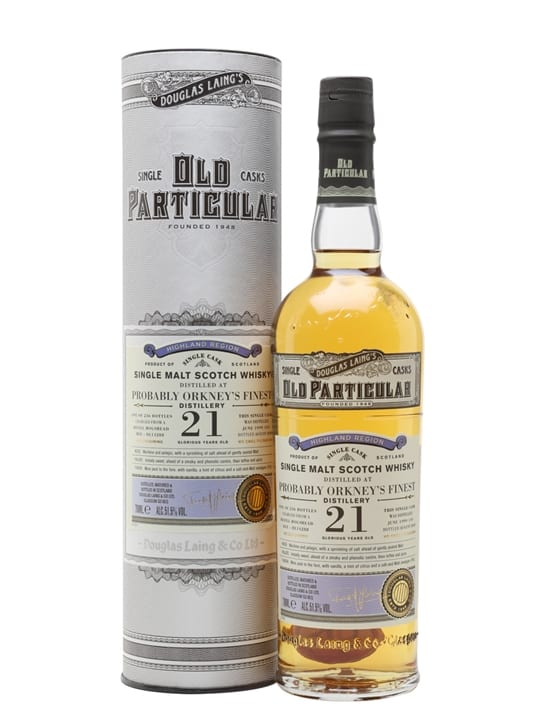 Orkney's Finest 1999 / 21 Year Old/ Old Particular Island Whisky