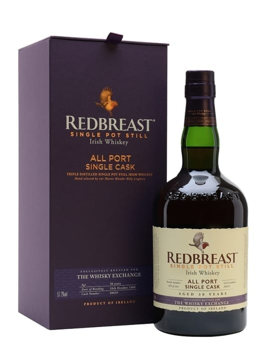 Redbreast 1989 / 30 Year Old / Port Finish / TWE Exclusive