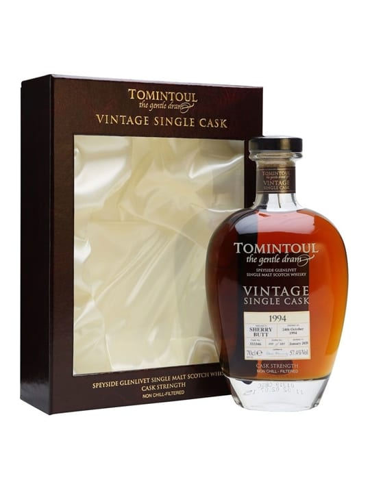 Tomintoul 1994 / 25 Year Old / Sherry Cask Speyside Whisky