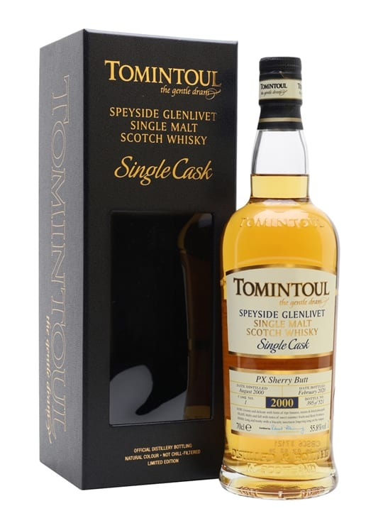 Tomintoul 2000 / 19 Year Old / Sherry Cask Speyside Whisky