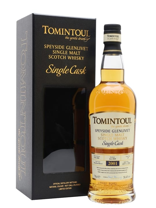 Tomintoul 2001 / 19 Year Old / Bourbon Cask Speyside Whisky