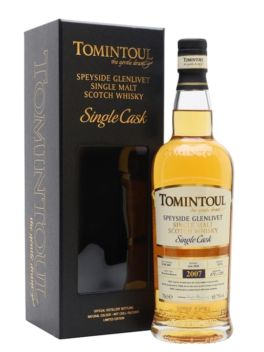 Tomintoul 2007 / 12 Year Old / Bourbon Cask Speyside Whisky