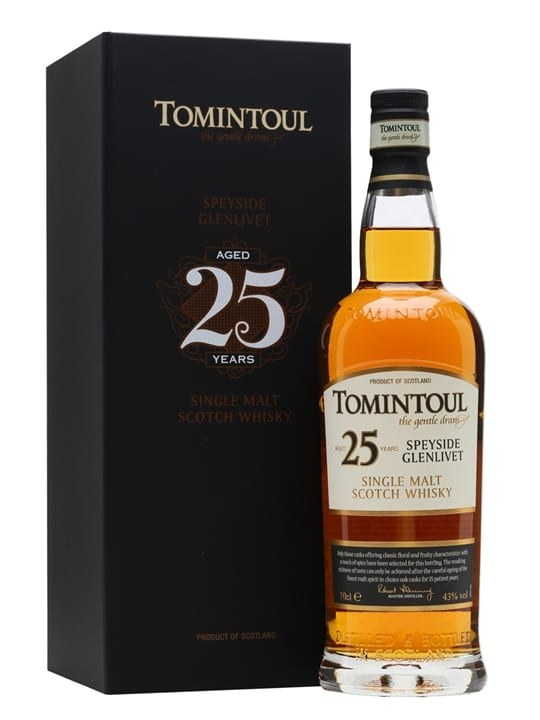 Tomintoul 25 Year Old Speyside Single Malt Scotch Whisky