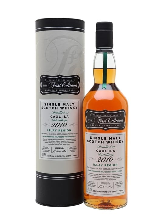 Caol Ila 2010 / 10 Year Old / First Editions Islay Whisky