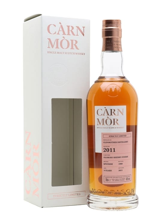 Glenrothes 2011 / 9 Year Old / Sherry Finish / Carn Mor Strictly Limited Speyside Whisky