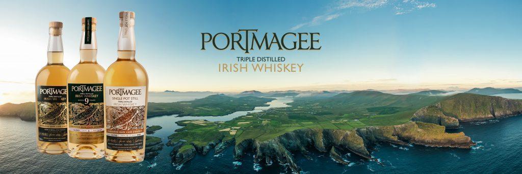 Portmagee Whiskey Range. Portmagee Whiskey, Portmagee 9 Portmagee Single Pot Still Irish Whiskey from Kerry
