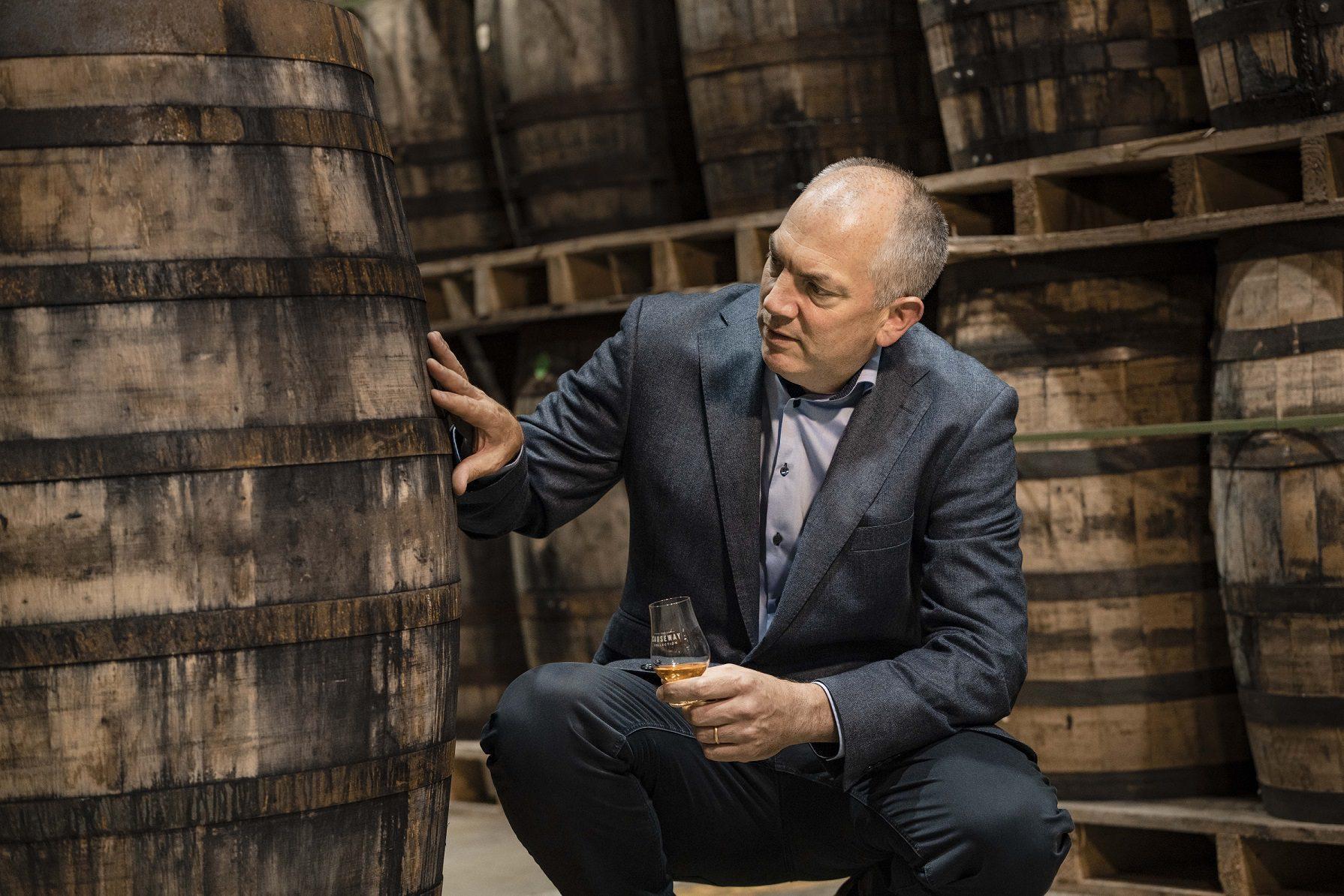 Bushmills Causeway Collection 2021. Irish Whiskey Blogger Stuart Mcnamara. Colum Egan Bushmills Whiskey Master Distiller.