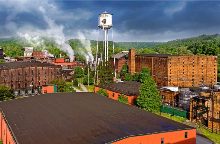 Buffalo Trace Distillery Frankfort Kentucky Bourbon Whiskey Blogger Stuart Mcnamara