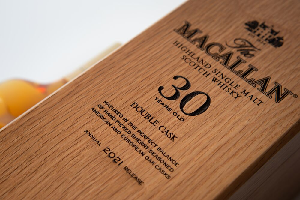 The Macallan Double Oak 30 Year Old Single Malt Whisky Whiskey Blogger Stuart Mcnamara