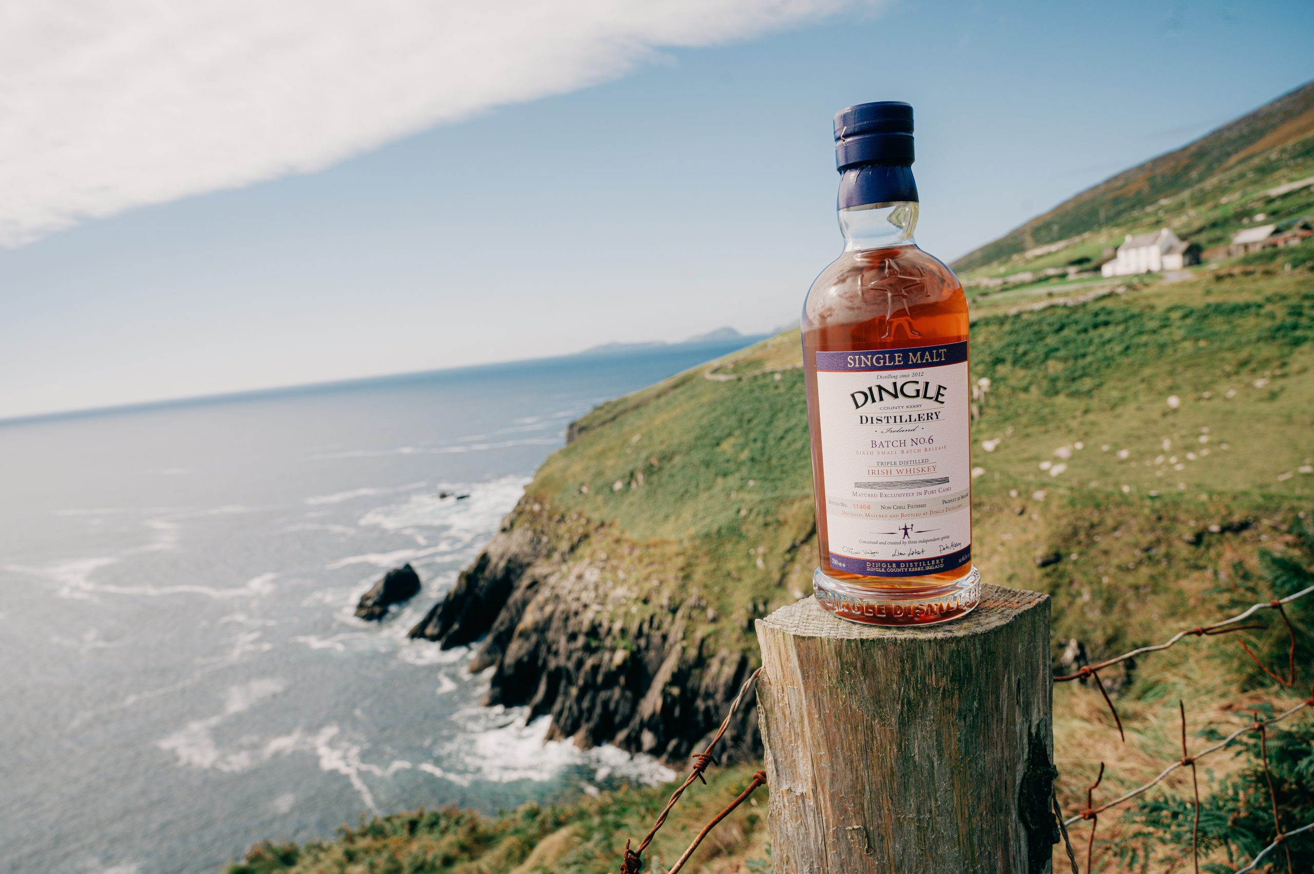 Dingle Single Malt Batch 6 Port Cask Finish. Irish Whiskey Blogger Stuart Mcnamara