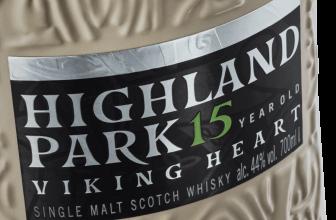 Highland Park 15 Year Old Viking Heart Whisky. Whiskey Blogger Stuart McNamara