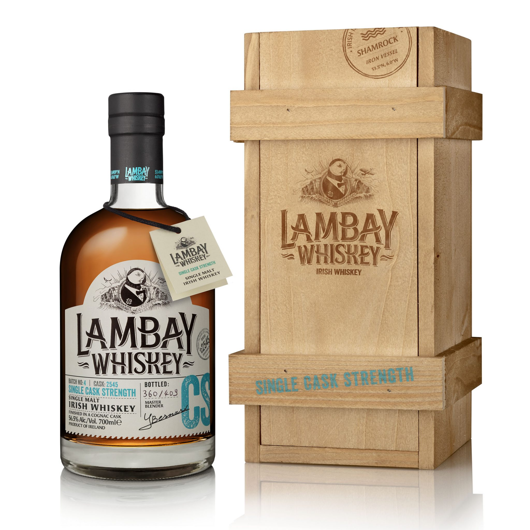 Lambay Cask Strength 2545 Irish Whiskey Blogger Stuart Mcnamara