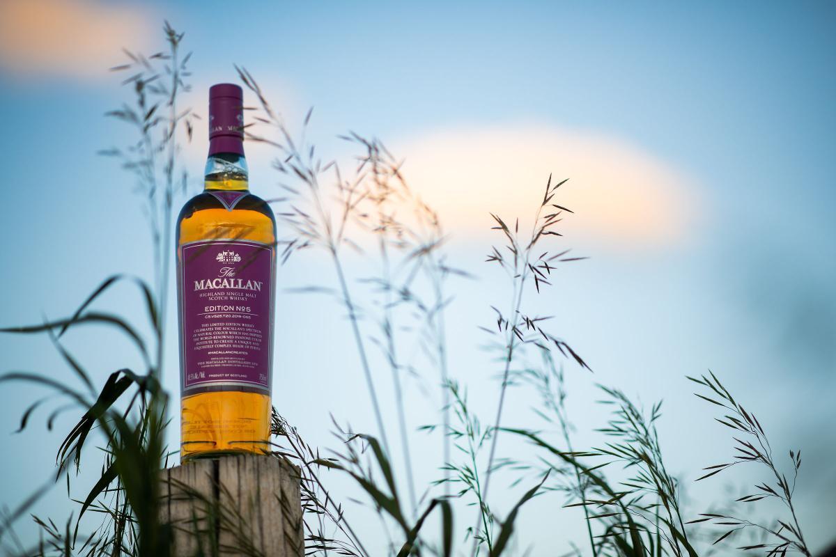 The Macallan Purple Edition No. 5 Single Malt Scotch Whisky Review By Whiskey Blogger Stuart Mcnamara