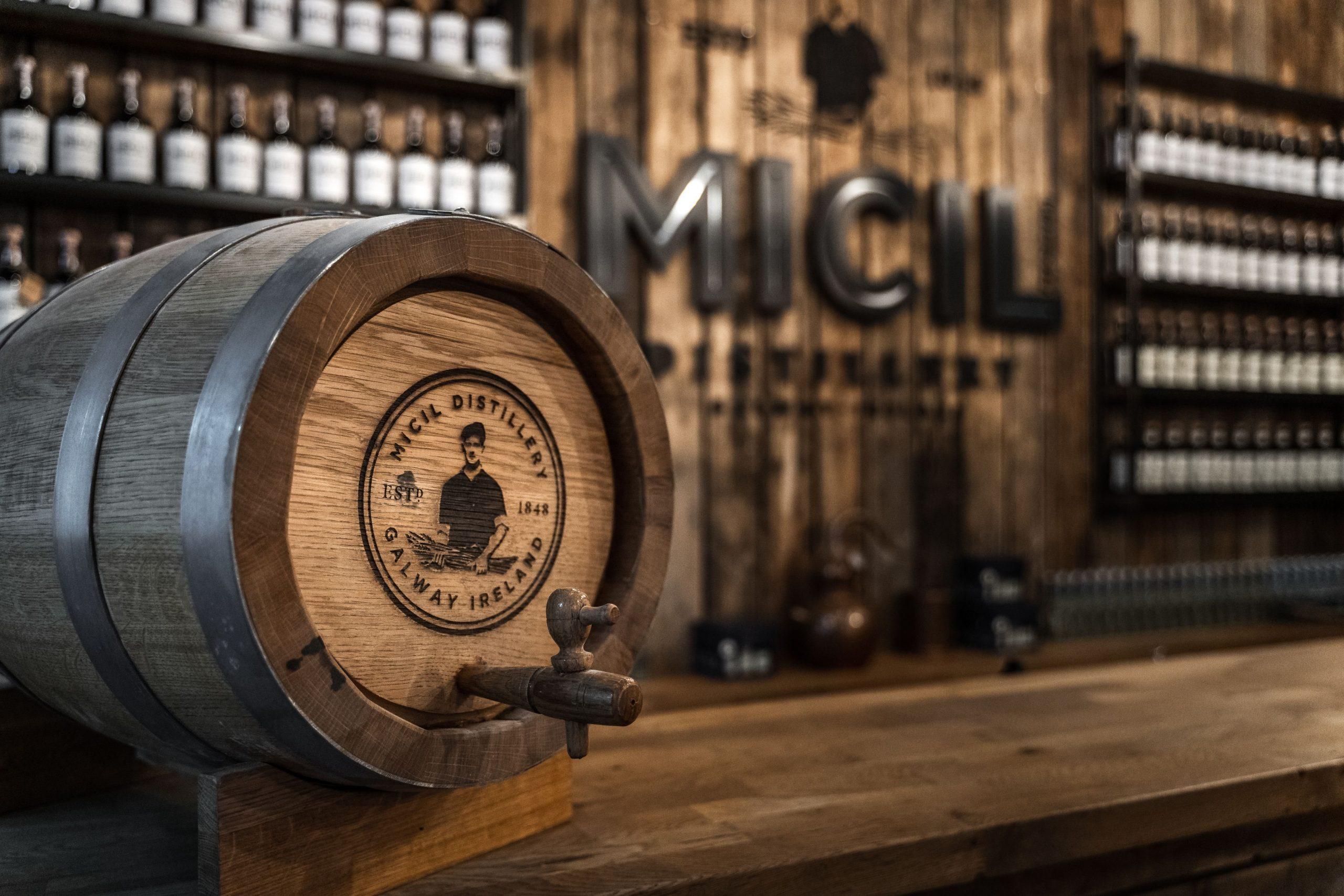Padraic O'Griallais Micil Distillery Irish Whiskey Blogger Stuart Mcnamara Galway Whiskey Cask Sales