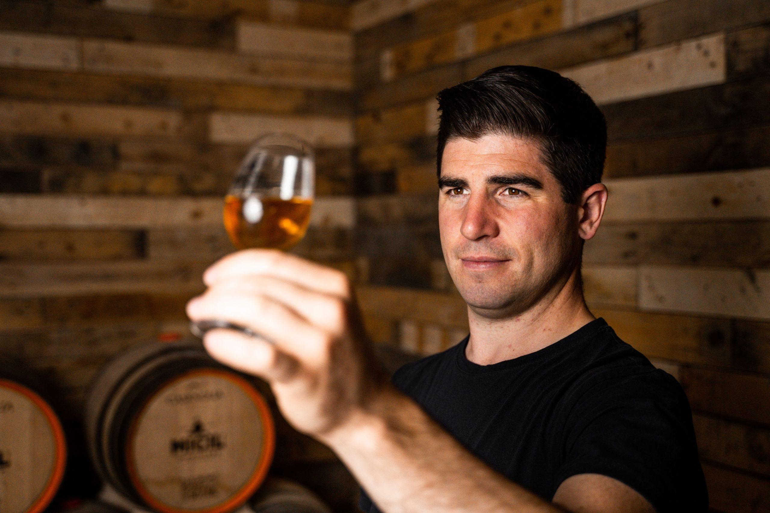 Padraic O'Griallais Micil Distillery Irish Whiskey Blogger Stuart Mcnamara Galway Whiskey