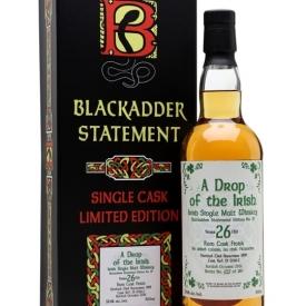 A Drop of the Irish 1989 / 26 Year Old / Blackadder Statement No.19