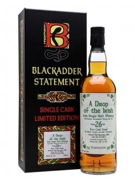 A Drop of the Irish 1989/26 Year Old/Blackadder Statement 20