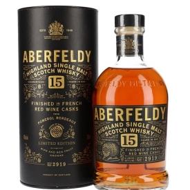 Aberfeldy 15 Year Old / French Red Wine Cask Finish Highland Whisky