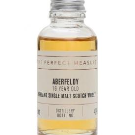 Aberfeldy 16 Year Old Sample Highland Single Malt Scotch Whisky