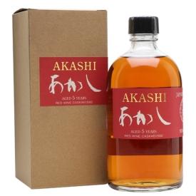 Akashi 5 Year Old / Red Wine Cask Japanese Single Malt Whisky