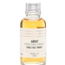 Amrut Peated Cask Strength Sample Indian Single Malt Whisky