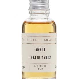 Amrut Single Malt Whisky Sample Indian Single Malt Whisky