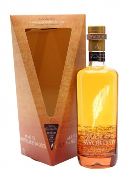Annandale 2015 Man O' Words / Bourbon Cask Lowland Whisky