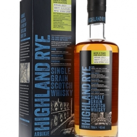 Arbikie Highland Rye 4 Year Old / Release 2 Single Grain Scotch Whisky