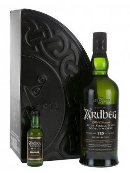 Ardbeg 10 Year Old + Uigeadail Mini Pack Islay Whisky