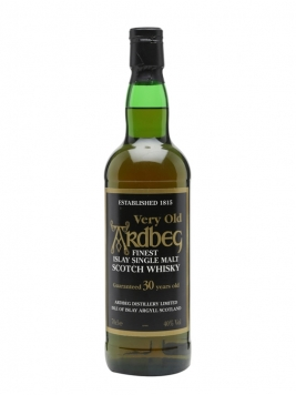 Ardbeg 30 Year Old Islay Single Malt Scotch Whisky