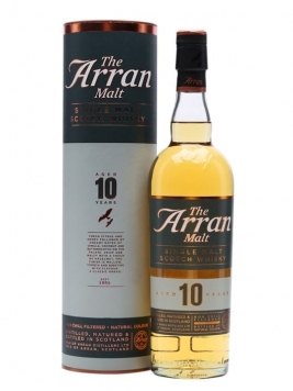 Arran 10 Year Old Island Single Malt Scotch Whisky