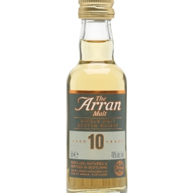 Arran 10 Year Old Malt Miniature Island Single Malt Scotch Whisky