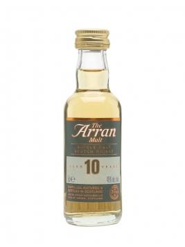 Arran 10 Year Old Malt Miniature Island Single Malt Scotch Whisky