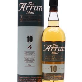 Arran 10 Year Old / Old Presentation Island Single Malt Scotch Whisky