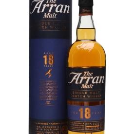 Arran 18 Year Old Island Single Malt Scotch Whisky
