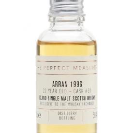 Arran 1996 Sample / 22 Year Old / TWE Exclusive Island Whisky