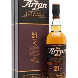 Arran 21 Year Old Island Single Malt Scotch Whisky