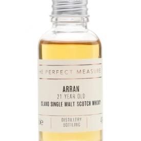 Arran 21 Year Old Sample Island Single Malt Scotch Whisky