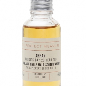 Arran Brodick Bay 20 Year Old Sample/ Explorers Series Vol.1 Island Whisky