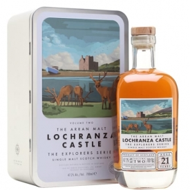 Arran Lochranza Castle 21 Year Old /Explorers Series Vol Two Island Whisky