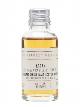 Arran Lochranza Castle 21 Year Old Sample /Explorers Series Island Whisky