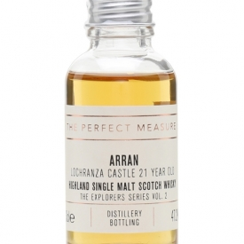 Arran Lochranza Castle 21 Year Old Sample /Explorers Series Island Whisky