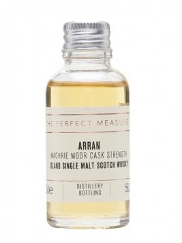Arran Machrie Moor Cask Strength Sample / Peated Island Whisky