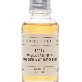 Arran Marsala Cask Finish Sample Island Single Malt Scotch Whisky