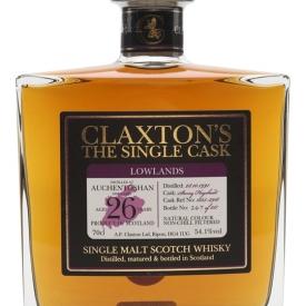 Auchentoshan 1991 / 26 Year Old / Claxton's Lowland Whisky