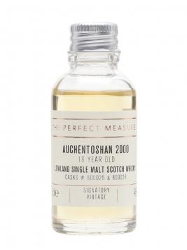 Auchentoshan 2000 Sample / 18 Year Old / Signatory Lowland Whisky