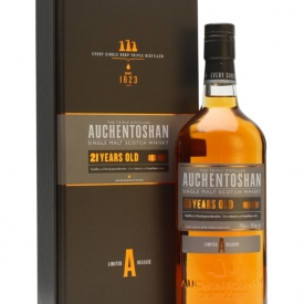Auchentoshan 21 Year Old Lowland Single Malt Scotch Whisky