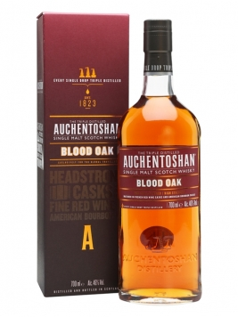 Auchentoshan Blood Oak Lowland Single Malt Scotch Whisky