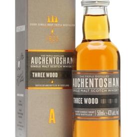 Auchentoshan Three Wood Miniature Lowland Single Malt Scotch Whisky